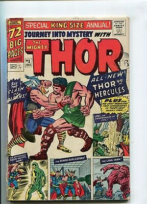 Journey Into Mystery With Thor Annual # 1 - 1St Appearance Of Hercules - Key
