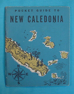Great Book:  Pocket Guide To New Caledonia  C1944