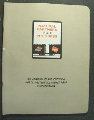 Proposed North Western-Milwaukee Road Consolidaton - Natural Partners - Sc
