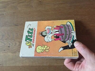 PETIT FORMAT BD TITI ET GROSMINET album cartonne sagedition 1985 4