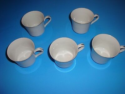 Crown Victoria Lovelace China Five Cups