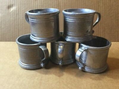 Lot 5 WILTON ARMETALE Plough Tavern Coffee Tea CUP w/out liners!