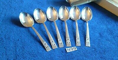 "VINTAGE ""HAMPTON COURT "" or CORONATION COMMUNITY PLATE  SPOONS 6"" RIDGED CUPS"