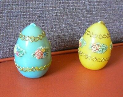 Vintage Easter Egg Candles from Western Germany