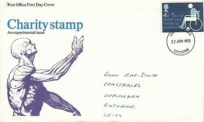 GB 1975   Health & Handicap Funds Charity Stamp.  FDC.