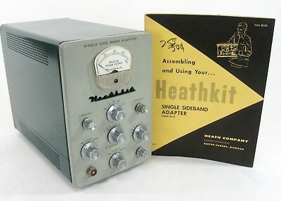 Heathkit Sb-10 Single Side Band Adapter For Apache Dx-100 Tx-1 W Complete Docs