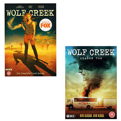 Wolf Creek The Complete First Series Season 1 & 2 DVD