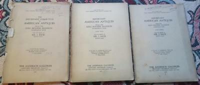 1926 Antique American,Furniture,Silver,Auction Catalog,I. Sack,Hooper Collection