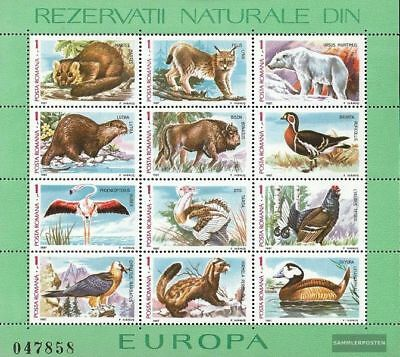 Romania block236 (complete issue) unmounted mint / never hinged 1987 Flora