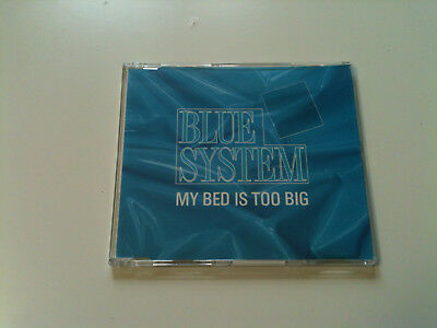 Blue System - MY BED IS TOO BIG - Maxi CD Single © 1988 (Dieter Bohlen)