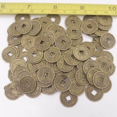 1000 PCS Mix Lot Replica Chinese Qing Dynasty 15mm Coins Feng Shui Copper Alloy