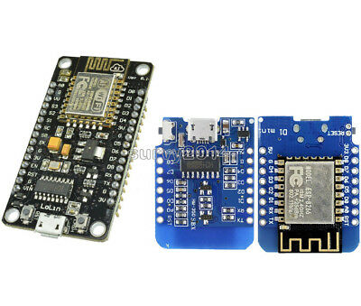 ESP8266 ESP-12E CH340G WeMos D1 Mini WIFI Network Development Board NodeMcu Lua