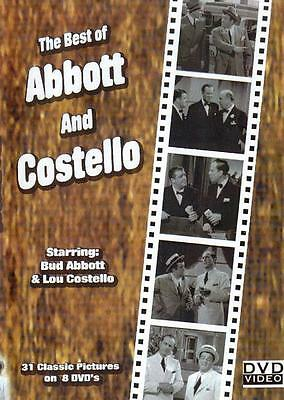 Abbott And Costello 31 Full Length Movies - 8 DVD SET