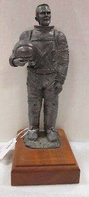 Michael Ricker THE AMERICAN ASTRONAUT Pewter Statue