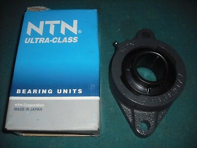 NIB NTN ASFD204 012 2 BOLT FLANGE BEARING UNIT ASFD 204 AS204 AS 204 20mm ID NEW
