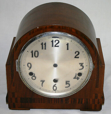 Antique Westminster Chiming Art Deco Clock Case for Parts