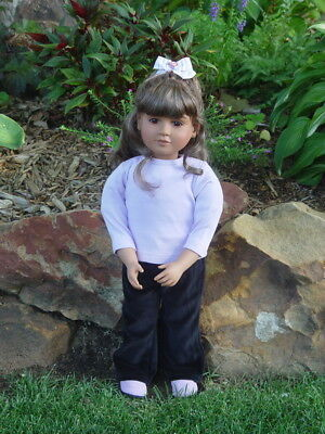 "New In Box 23"" My Twinn Doll * Brown Eyes * Brunette Hair * Light Brown Skin"