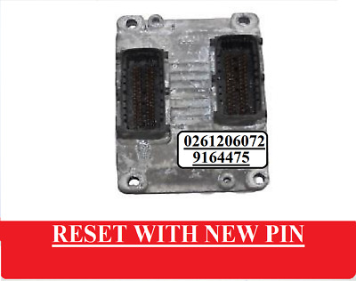 *RESET WITH NEWE CODE* Z10XE Bosch 0261206072 Vauxhall Corsa C 1.0 Petrol BY