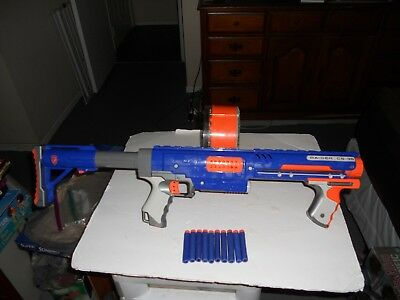 Nerf N-Strike Raider CS-35 Rapid Fire Toy Gun With Dart Drum Mag