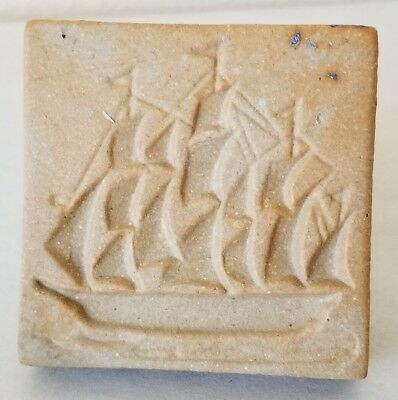 Rycraft Tall Ship Nautical Square Cookie Stamp