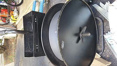 """Ybico Band Strapping Machine with 1/2"""" strap banding on wheels"""