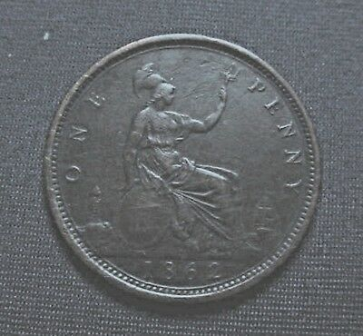 1862 Great Britain Large Cent High Grade