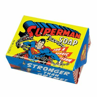 DC Comics Superman Soap For A Heroic Clean Stronger Than Grime! NEW UNUSED
