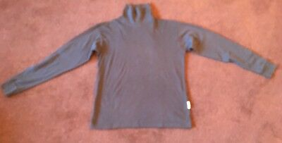 Trespass Role Neck Shirt Size Medium Black Vgc Hardly Worn Bargain £3.00