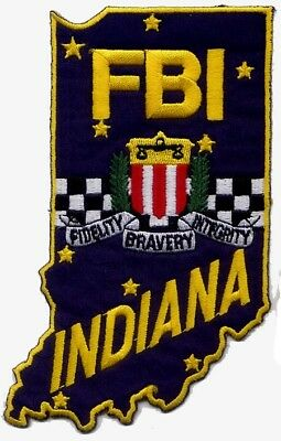 S30 * Fb Indianapolis In Ra Jttf Hat Fed Agency Police Patc Atf Dea Hrt