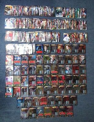 Dr Doctor Who Battles in Time 498 Different Cards - all listed - great condition