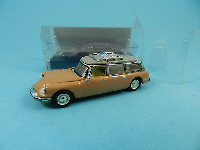 Norev 155054 Citroen Id Break 1960 Braun 1:87
