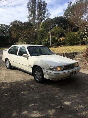 Volvo 960 1995 White Registered to May 2019 Original Owner 127,144km