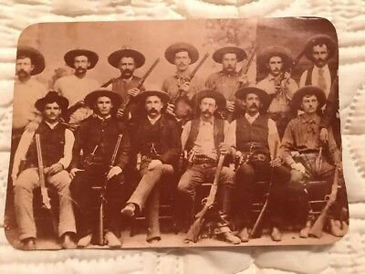 Old West Collectors Series 13 Texas Rangers Post Card