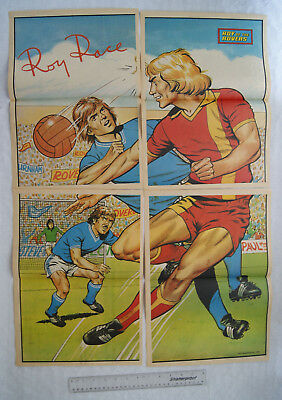 c.1980 Roy of The Rovers Football Poster (4 parts)