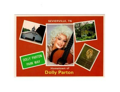 Picure Postcard-Hometown Of Dolly Parton -Sevierville, Tennessee  Bk6