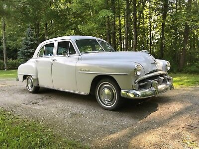 1952 Plymouth Cranbrook  1952 PLYMOUTH CRANBROOK CLASSIC 4 DOOR CAR