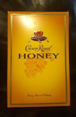 1 - Crown Royal Honey Complete Collectors Sealed Box RETIRED Discontinued  RARE