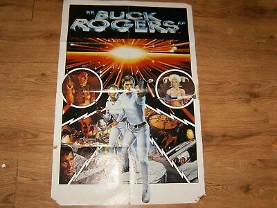 Rare The Official Poster Magazine No1 Buck Rogers 33 Inch X 23 Inch