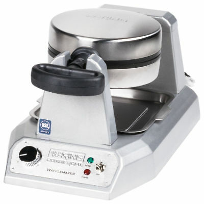 NEW Waring WWD180 Commercial Single Classic Waffle Maker NSF UL Listed