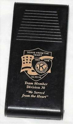 "1998 Kiwanis Screw Driver Tool Small Micro Kit Advertizing Souviner ""we Served"""