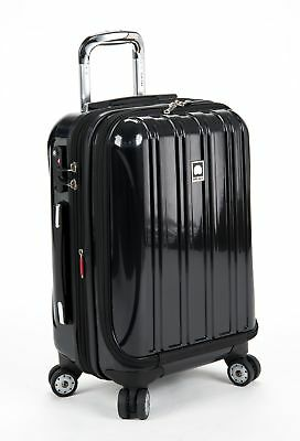 Delsey Luggage Helium Aero International Carry On Expandable Spinner Trolley 19""