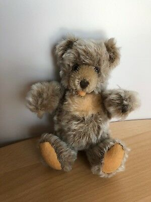 Alter STEIFF Zotty Teddy Bär, Mohair, 16 cm, 1976-1982