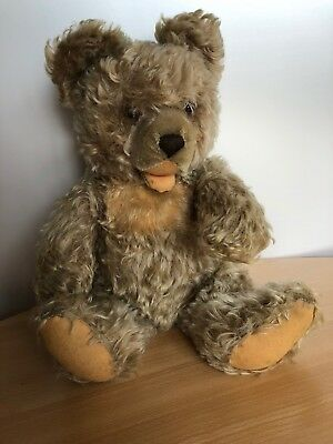 Alter STEIFF Zotty Teddy Bär, Mohair, 45 cm, 1976-1982