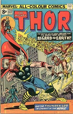 The Mighty Thor # 233 - Silver Surfer - Black Panther - John Buscema Art