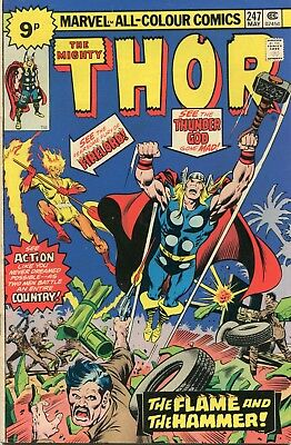 The Mighty Thor # 247 - Firelord Appears - John Buscema Art