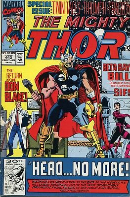The Mighty Thor # 442 - Captain America - Annihilus - Absorbing Man