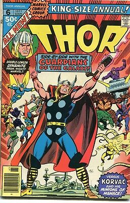 Thor King Size Annual # 6 - Guardians Of The Galaxy Appear - Non Distributed Uk