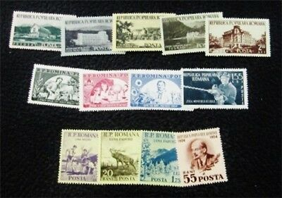nystamps Romania Stamp # 945//996 Mint OG H/NH $33