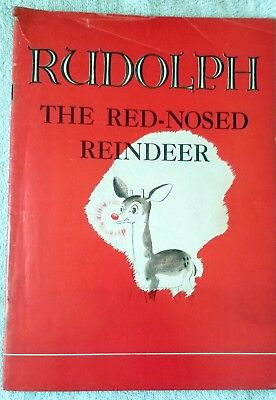 Rudolph the Red-Nosed Reindeer. Robert L. May. Montgomery Ward. 1939 Original