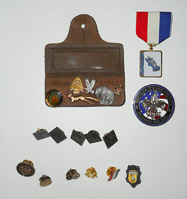 Vtg BOY SCOUTS of America PIN LOT * 19 * BSA Scout Pins HUGE & RARE